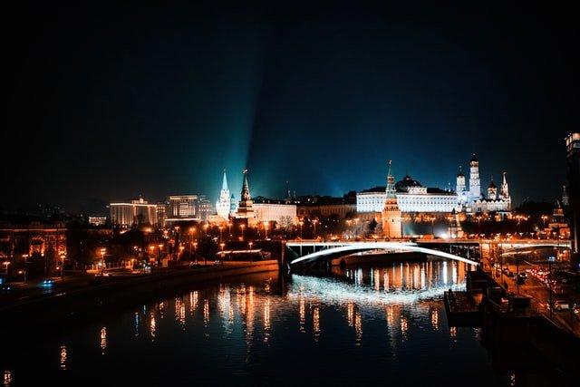 russia sky line